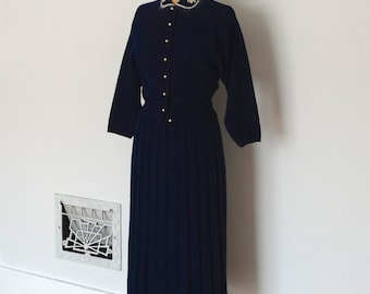 Vintage 1950s Sweater Set - 50s Knit Set - The Janet