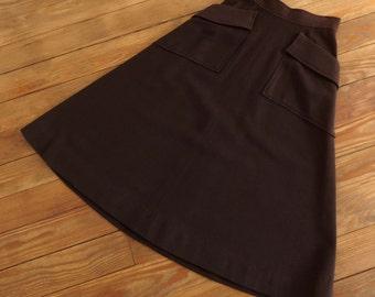 Vintage 1940s Skirt - 40s Wool Skirt - The Francesca
