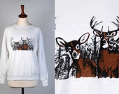 Totally AWESOME Deer Sweatshirt || Doe & Buck