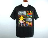 1993 Concrete Blonde Tour T-Shirt, Destino, Concrete Moon