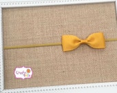 Mustard Baby Headband, Mustard Gold Headband, Toddler Headband, Newborn Headband, Photo Prop, Gold Headband, Mustard Gold Infant Headband
