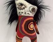 Zombie Monster Doll Softie Plushie Creepy Cute