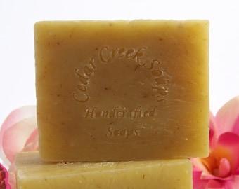 Lemongrass Soap - Lemongrass Cold Processed Soap ~ All Natural and Vegan Soap
