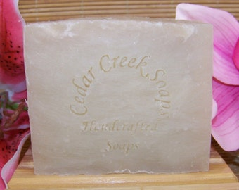 Coconut Soap - Coconut Olive Oil Cold Processed Soap~ Natural and Vegan Soap