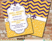 Housewarming Invitation - LSU / Couples Shower / Louisiana / Moving / Moving to LSU
