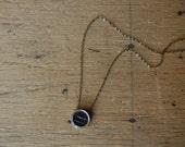 Victorian intaglio seal pendant with dog ∙ antique intaglio conversion pendant
