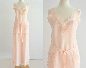 Vintage silk pajamas – Etsy