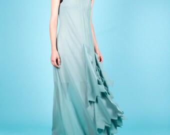 75% OFF SAMPLE SALE!!! Emerald green evening dress