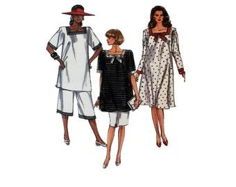 Vintage Maternity Pattern Maternity Dress Pattern, Maternity Tunic Pattern, Maternity Skirt Pattern, Maternity Pants Pattern Simplicity 9173