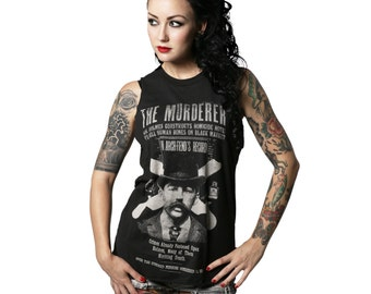 H.H. HOLMES MURDERER Muscle Tee