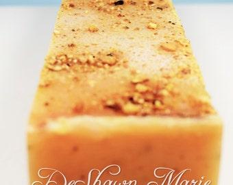 SOAP - 3 lb. Organic Citrus Basil Handmade Soap Loaf, Wholesale Soap Loaves, Vegan Soap, Cold Processed Soap, Natural Soap