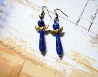 Blue Angel Earrings (2307)