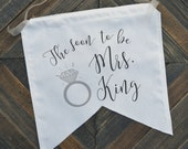 Soon to Be Mrs. Bridal Shower Decorations, Bachelorette Party Decorations, Chair Sign, Bride to Be