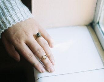 14k Goldfill Stone Ring
