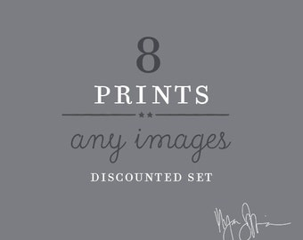 wall art sale, custom discounted print set, any 8 prints, your choice, photography set, kitchen decor, baby nursery decor, LA art prints