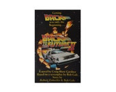 Vintage Back to the Future, Part II. Craig Shaw Gardner. Marty McFly. Doc Brown. Book. Novel. Film Tie-in. Paperback. Black. 1989 1st.