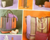 Simplicity 5601 Tote Bags/ Zippered Bags/ Bottle Holder