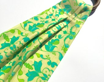 Doll Sling - Toy Ring Sling - Baby Doll Carrier - Mini Sling - Toddler Toy // Happy Emerald After