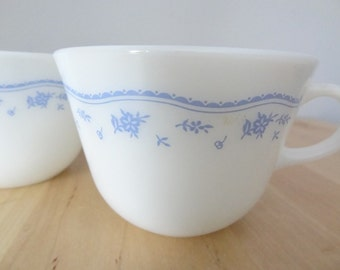 Pyrex Mugs Morning Blue Pattern