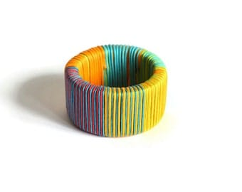 Summer bracelet in shiny Colors  - small size