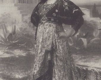 The Divine Sarah Bernhardt in Gismonda, circa 1905, by Nadar