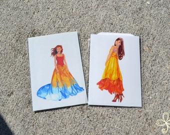 Amaterasu Mini Print - Pocket Goddess