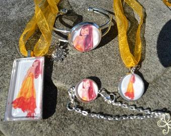 Amaterasu Large Bracelet