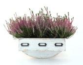 FREE SHIPPING - Wall herb planter, Wal hanging Flowerpot, Box for Herbs, Handmade box, Garden herbs, Herb garden, Wall hanging garden