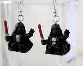 Darth Vader Stainless steel earrings