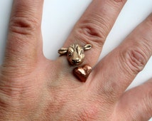 Cow love ring
