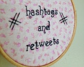 "Eff Hashtags and Retweets - Jay Z ""Tom Ford"" hand-embroidery"