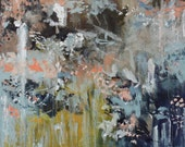Large abstract Painting  large contemporary painting 24 x 30  Just Dream Swalla Studio
