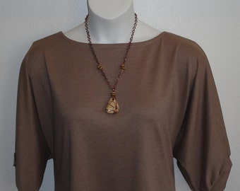 S - 2X- Post Surgery Shirt- Shoulder- Mastectomy- Breast Cancer/ Adaptive Clothing - Hospice, Seniors, Stroke/ Breastfeeding-Style Libby