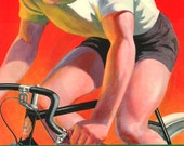 Bicycle, Royal Enfield, Cycle, Bike, Bicycle Culture, Fitness, 1930s, UK, India, Club, Print