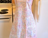 Old Fashioned Vintage Style Full Apron