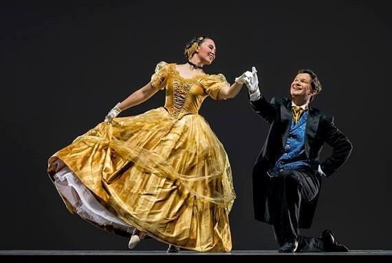 Princess Ball Gown Wedding Dress: Victorian Ball Gown Silk Wedding Gown Disney Princess