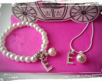 Princess Gift Set - Personalised Jewellery Presented In A Princess Carriage Gift Box - Cute