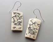 Caribou Antler Earrings – A Cabin in the Woods