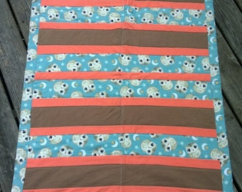 Sweet Dreams Owl Moons & Stars Quilt