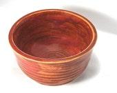 Ceramic Desk Bowl / Ring Bowl - Mulberry to Market in Rich Garnet Pink (OOAK Handmade Stoneware Small Bowl, Jewelry Organizer, Trinket Bowl)