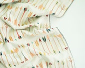 Minky Baby Blanket - Falling Arrow - Personalization Available - Toddler Blanket - Arrow Baby Blanket -Wild and Free