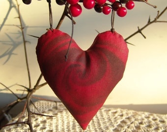 Hanging Hearts - Home Decor - Red Heart-Wall Decor