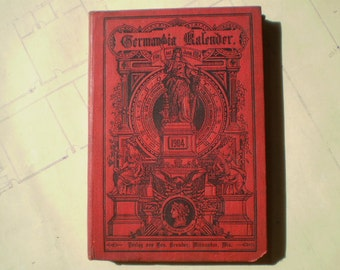 Germania Kalender 1904 - Illustrated - German Language Edition - Calendar - Almanac - News and Fiction