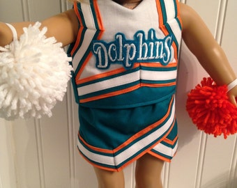 Design your own American Girl Doll Cheerleader Outfit - Price is for complete outfit