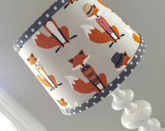 IN STOCK Fox Dapper Lamp shade