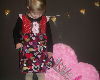 Queen of Hearts Dress and Bow