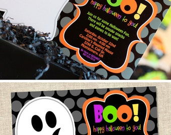 Halloween Invitation | Halloween Party Invitation | Ghost Invite | Halloween Birthday Party | Halloween Decoration | Amanda's Parties To Go
