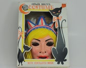 Vintage Ben Cooper Halloween Costume Miss Liberty  Color Brite Child's