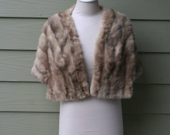 Vintage 1950 Fox Fur Stole from Germany
