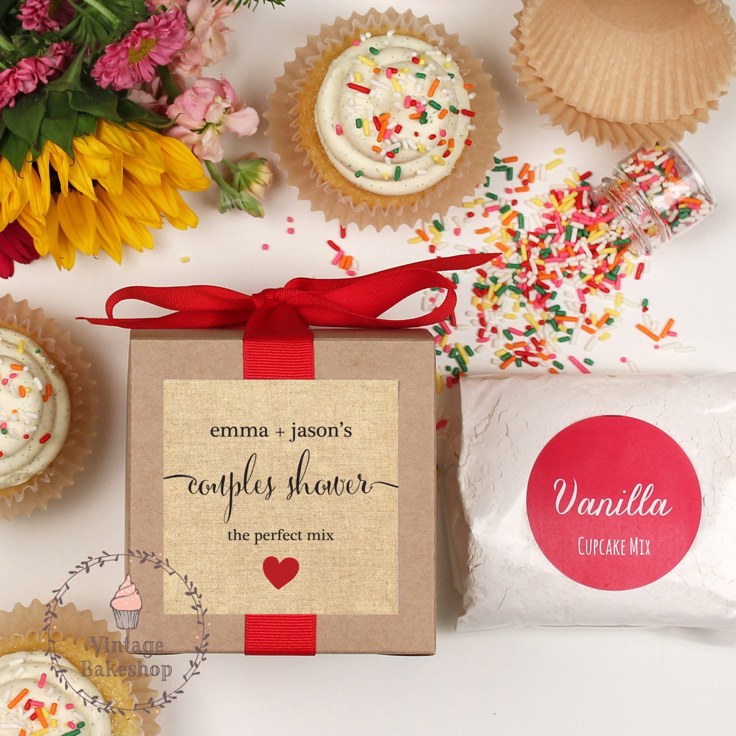 Wedding Reception Ideas For Older Couples: Couples Shower Favor Couples Wedding By VintageBakeshopEtsy